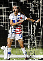 Lakewood Ranch, FL - Wednesday, October 10, 2018:   Ainsley Ahmadian during a U-17 USWNT match against Colombia.  The U-17 USWNT defeated Colombia 4-1.