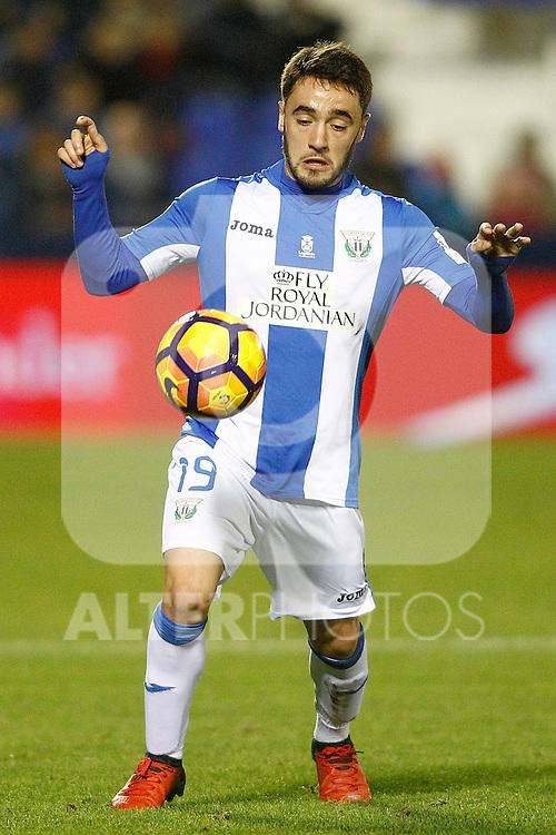 CD Leganes' Unai Lopez during La Liga match. December 3,2016. (ALTERPHOTOS/Acero)