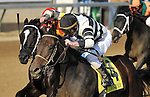 Motor City and Calvin Borel take the 30th running of the G3 Iroquois Stakes for two year olds at Churchill Downs in Louisville, Kentucky, Sunday October 30th, 2011.