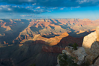Sunset In Grand Canyon South Rim, Arizona, USA