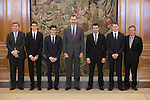 20141120 King Felipe VI Royal Audience World Champion