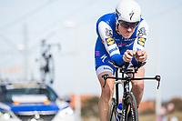 Dries Devenyns (BEL/Quick Step Floors) <br /> <br /> 3 Days of De Panne 2017<br /> afternoon stage 3b: ITT De Panne-De Panne (14,2km)