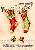 Marcello, CHRISTMAS SYMBOLS, WEIHNACHTEN SYMBOLE, NAVIDAD SÍMBOLOS, paintings+++++,ITMCXM1409,#XX# ,Christmas stockings