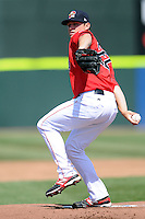 Portland sea Dogs pitcher Chris Balcom-Miller # 22 during a game versus the Binghamton Mets  at Hadlock Field on April 15, 2012 in Portland, Maine.  (Ken Babbitt/Four Seam Images)