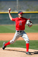 Chad Blackwell - Los Angeles Angels - 2009 spring training.Photo by:  Bill Mitchell/Four Seam Images