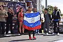 Boxing : Official weigh-in for WBC super flyweight title bout
