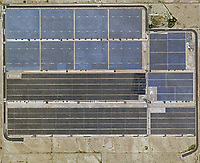 aerial photo map of the Mesquite Solar project, Arlington, Maricopa, Arizona