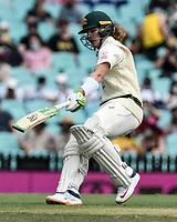 7th January 2021; Sydney Cricket Ground, Sydney, New South Wales, Australia; International Test Cricket, Third Test Day One, Australia versus India; Marnus Labuschagne of Australia scores runs between wickets
