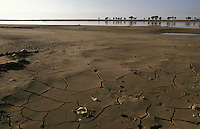 The Yellow River runs dry near Baotou in Inner Mongolia. Droughts and desertification are causing serious environmental problems in China and water shortages are increasing...HENLEY/ SINOPIX