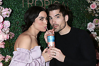LOS ANGELES - MAR 11:  Ashley Iaconetti and Jared Haibon at the Seagram's Escapes Tropical Rose Launch Party at the hClub on March 11, 2020 in Los Angeles, CA