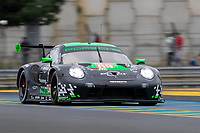 #69 Herberth Motorsport Porsche 911 RSR - 19 LMGTE Am, Robert Renauer, Ralf Bohn, Rolf Ineichen, 24 Hours of Le Mans , Free Practice 1, Circuit des 24 Heures, Le Mans, Pays da Loire, France