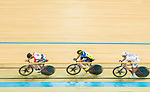 Leung Chun Wing (l) of the SCAA competes in Men Elite - Points Race 30KM Final during the Hong Kong Track Cycling National Championship 2017 on 25 March 2017 at Hong Kong Velodrome, in Hong Kong, China. Photo by Marcio Rodrigo Machado / Power Sport Images