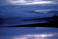 Clouds rovering over lake<br />