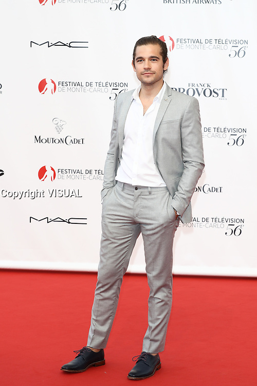 56th Monte-Carlo Television Festival opening red carpet. Ralph Jason.