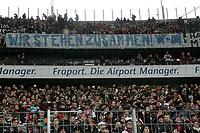 """Fans von Eintracht Frankfurt """"stehen zusammen"""""""