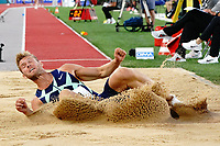 9th July 2021, Monaco, France; Diamond League Athletics, Herculis meeting, Monaco; Kevin Mayer France mens long jump