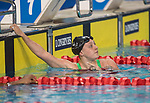 Wales Harriet Jones in action during the Womans 50m Butterfly semi-final<br /> <br /> *This image must be credited to Ian Cook Sportingwales and can only be used in conjunction with this event only*<br /> <br /> 21st Commonwealth Games - Swimming - Day 3 - 07\04\2018 - Gold Coast Optus Aquatic centre - Gold Coast City - Australia