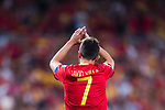 David Villa of Spain gestures during their 2018 FIFA World Cup Russia Final Qualification Round 1 Group G match between Spain and Italy on 02 September 2017, at Santiago Bernabeu Stadium, in Madrid, Spain. Photo by Diego Gonzalez / Power Sport Images