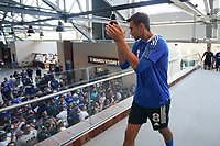 SAN JOSE, CA - AUGUST 8: Chris Wondolowski #8 of the San Jose Earthquakes before a game between Los Angeles FC and San Jose Earthquakes at PayPal Park on August 8, 2021 in San Jose, California.