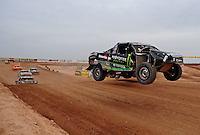 Mar. 20, 2011; Chandler, AZ, USA;  LOORRS pro four driver Johnny Greaves during round two at Firebird International Raceway. Mandatory Credit: Mark J. Rebilas-
