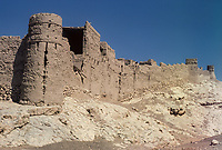 Sulaif, Oman.  1985 Ruins of Old Fort.