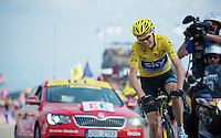 stage winner: Chris Froome (GBR)<br /> <br /> Tour de France 2013<br /> stage 15: Givors to Mont Ventoux, 242,5km