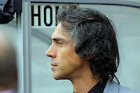ATTENTION SPORTS PICTURE DESK<br /> Pictured: Paulo Sousa Manager of Swansea City <br /> Re: Coca Cola Championship, Swansea City Football Club v Cardiff City FC at the Liberty Stadium, Swansea, south Wales. Saturday 07 November 2009