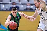TDAYS EuroCup 2020-2021.Round 1.<br /> Joventut Badalona vs Partizan NIS Belgrado: 85-82.<br /> Nenad Dimitrijevic vs Eric Mika.