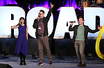Susan Egan, Ben Cameron and Ethan Slater on stage during Broadwaycon at New York Hilton Midtown on January 11, 2019 in New York City.