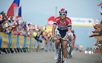 Johnny Hoogerland (NLD)<br /> <br /> Tour de France 2013<br /> stage 15: Givors to Mont Ventoux, 242,5km