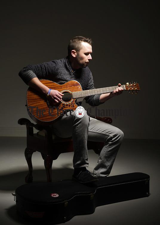 Ennis guitarist and musician Paul Quinn. Photograph by John Kelly.