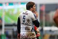 Jandre Marais of Bordeaux Begles during the European Challenge Cup match between Dragons and Bordeaux Begles at Rodney Parade, Newport, Wales, UK. 20 January 2018