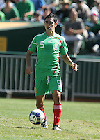 Fausto Pinto controls the ball. Mexico defeated Nicaragua 2-0 during the First Round of the 2009 CONCACAF Gold Cup at the Oakland, Coliseum in Oakland, California on July 5, 2009.