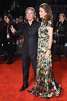 """LONDON, UK. October 08, 2019: Don Johnson & wife Kelley Phleger arriving for the """"Knives Out"""" screening as part of the London Film Festival 2019 at the Odeon Leicester Square, London.<br /> Picture: Steve Vas/Featureflash"""
