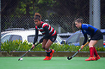 Canterbury 2 v Counties Manukau. Under-18 Hockey Tournament day six at National Hockey Stadium in Wellington, New Zealand on Friday, 16 July 2021. Photo: Dave Lintott / lintottphoto.co.nz https://bwmedia.photoshelter.com/gallery-collection/Under-18-Hockey-Nationals-2021/C0000T49v1kln8qk
