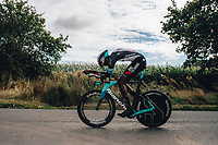 6th October 2021 Womens Cycling Tour, Stage 3. Individual Time Trial; Atherstone to Atherstone. Teniel Campbell.