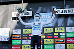 Aleksandr Vlasov (RUS) Astana-Premier Tech wins the young riders White Jersey classification of Paris-Nice 2021 at the end of Stage 8 running 92.7km from Le Plan-du-Var to Levens, France. 14th March 2021.<br /> Picture: ASO/Fabien Boukla | Cyclefile<br /> <br /> All photos usage must carry mandatory copyright credit (© Cyclefile | ASO/Fabien Boukla)