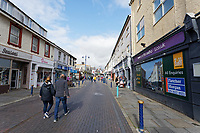 Pictured: Porthcawl town centre. Sunday 29 September 2019<br /> Re: Porthcawl Elvis Festival in south Wales, UK.