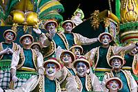 Sao Paulo (SP), 21/02/2020 - Carnaval2020sp-Desfile - Homenagem a Jesus e o mote do desfile da Mancha Verde, escola que foi campea do carnaval de Sao Paulo pela primeira vez em 2019. Desfiles das escola de samba do grupo especial, no sambodromo do Anhembi, em Sao Paulo, nesta sexta-feira (21). (Foto: Maycon Soldan/Codigo 19/Codigo 19)