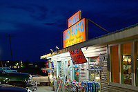Beach supply convenience store, Chincoteague, Virginia, USA