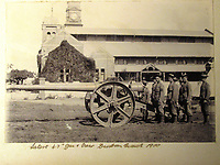 BNPS.co.uk (01202) 558833<br /> Pic: Charles Miller/BNPS<br /> <br /> The Gunners<br /> <br /> A fascinating photo album compiled by a British naval officer on tour in the Far East at the turn of the 20th century has come to light.<br /> <br /> Taprell Dorling served on the HMS Terrible in 1900 at the start of an over 30 year career at sea.<br /> <br /> The album, containing 74 photos, has emerged for sale with auctioneers Charles Miller, of London, with an estimate of £3,000.