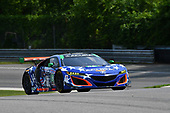 IMSA WeatherTech SportsCar Championship<br /> Northeast Grand Prix<br /> Lime Rock Park, Lakeville, CT USA<br /> Friday 21 July 2017<br /> 86, Acura, Acura NSX, GTD, Oswaldo Negri Jr., Jeff Segal<br /> World Copyright: Richard Dole<br /> LAT Images<br /> ref: Digital Image RD_LRP_17_01103