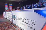 Foxwoods signage, crowed and WPT set.