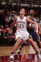 19 January 2006: Jillian Harmon during Stanford's 82-51 win against Arizona Wildcats at Maples Pavilion in Stanford, CA.