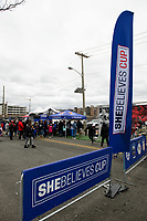 Harrison, NJ - Sunday March 04, 2018: Fan zone during a 2018 SheBelieves Cup match match between the women's national teams of the United States (USA) and France (FRA) at Red Bull Arena.