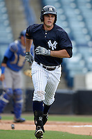 New York Yankees first baseman Greg Bird (66) during an Instructional League game against the Toronto Blue Jays on September 24, 2014 at George M. Steinbrenner Field in Tampa, Florida.  (Mike Janes/Four Seam Images)