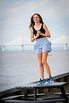 Bat Mitzvah Portraits<br /> On The Irvington Waterfront