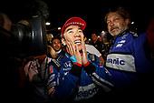 Takuma Sato, Rahal Letterman Lanigan Racing Honda celebrates in victory lane