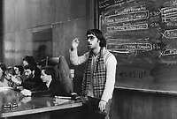 - student assembly in the State University (Milan, 1976)....- assemblea studentesca all'Università Statale (Milano, 1976)