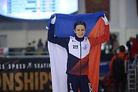 SPEEDSKATING: 13-02-2020, Utah Olympic Oval, ISU World Single Distances Speed Skating Championship, 3000m Ladies, Martina Sáblíková (CZE), ©Martin de Jong